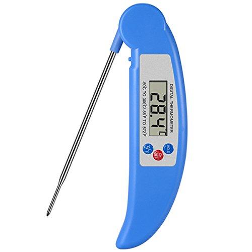 AROUSE Termómetro digital de carne de lectura instantánea termómetro de cocina electrónico termómetro de comida con...