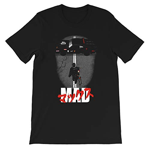 The Mad Warrior Mad Max Road Warrior 80s Movie Furiosa Parody Graphic Gift Men's Women's Girls Unisex T-Shirt Hoodie (Black-2XL) (Mad Max Fury Road Blu Ray Release)