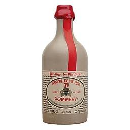 Pommery Aged Red Wine Vinegar in stone crock bottle 16 oz