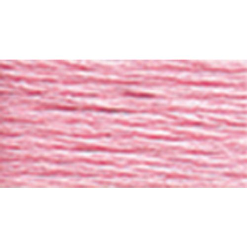 - DMC 117-605 Six Stranded Cotton Embroidery Floss, Very Light Cranberry, 8.7-Yard