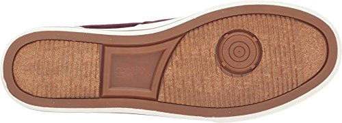 Polo Ralph Lauren Mens Vaughn Sneaker, Port, 8.5 D Us
