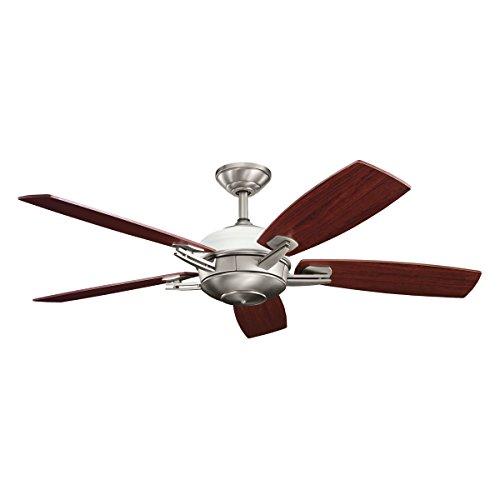 Kichler  300262AP 6 Light 54-Inch Brinbourne Ceiling Fan, Antique Pewter For Sale
