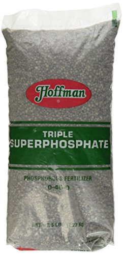 High Phosphorus Soil - Hoffman 66005 Triple Super Phosphate 0-46-0, 5 Pounds