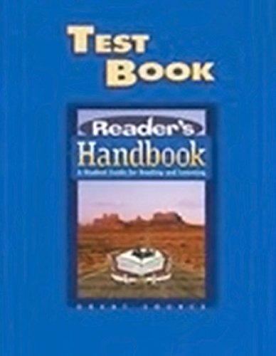 Great Source Reader's Handbooks: Test Book
