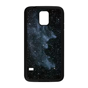 DIY Cover Case with Hard Shell Protection for SamSung Galaxy S5 I9600 case with Bright stars lxa#461976