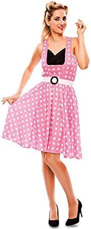 Disfraz de Chica pin-up Rosa para mujer: Amazon.es: Juguetes y juegos