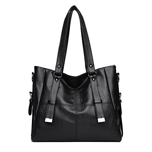 Bags High Bag Bags Fashion Crossbody Travel Bag Black Mother Bag Women's Atmosphere Simple Wild Shoulder Capacity Outdoor qY1S775