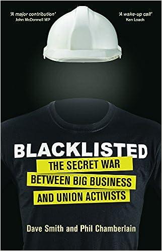 Blacklisted: Amazon co uk: Smith  Dave, Phil Chamberlain