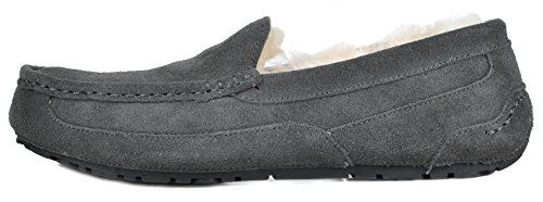 Loafer Slippers Grey Moccasins DREAM Men's PAIRS Au yqBcgc76w