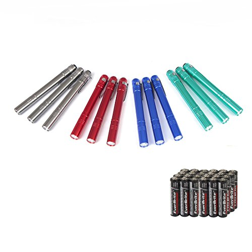 EverBrite Aluminum Penlight Flashlights Batteries product image