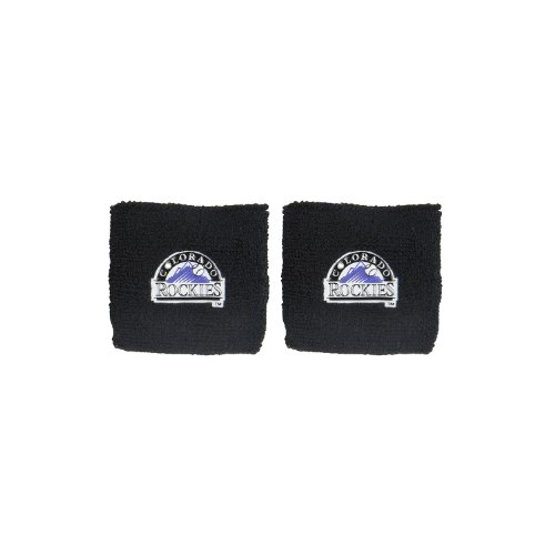 fan products of Franklin Sports MLB Colorado Rockies Team Wristbands