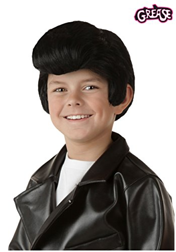 Dress Danny Costumes Fancy Grease (Fun Costumes unisex-child Child Grease Danny Wig)