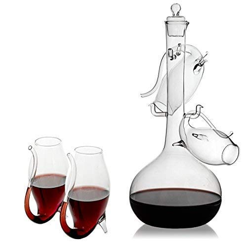 - Porto Decanter Set Port Sippers - The Wine Savant Port and Wine Sippers Wine Glasses Set, With a Port Decanter