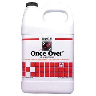 Once Over Floor Stripper (Franklin Cleaning Technology Once Over Floor Stripper Bottle)