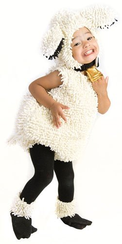 [Princess Paradise Baby's Lovely Lamb Deluxe Costume, As Shown, 3T-4T] (Nativity Costumes Set)