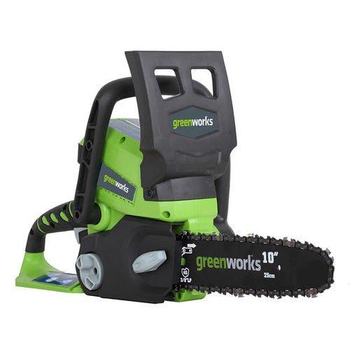 Greenworks Enhanced Cordless 10'' Chainsaw, 24v, 20272 by Greenworks