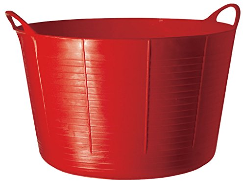 TubTrugs SP75R X-Large Red Flex Tub,75 Liter - Extra Large Bucket