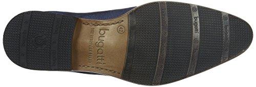 Bugatti 311186041400, Zapatos de Cordones Derby para Hombre Azul (Dark Blue 4100)