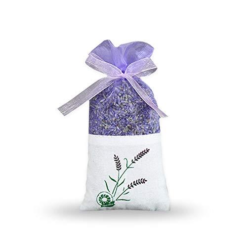 BlueDragon10 Dried Lavender Buds Natural Dried Petal Rose Jasmine Lavender Soothe The Mind Help Sleeping Bedroom Perfume Bag Home Living Room Closet Dresser by BlueDragon10 (Image #4)
