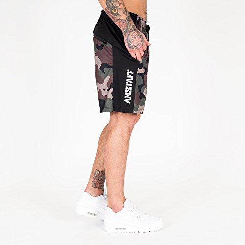 Pantalon Noir Sport Homme De Amstaff OnAqRxZn