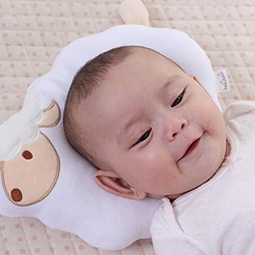 Emorias 1 Pcs Kinder-Kissen Tiermotive Schafe weiche Kissen Kinder Sofa Deko Bett Baby Kissen