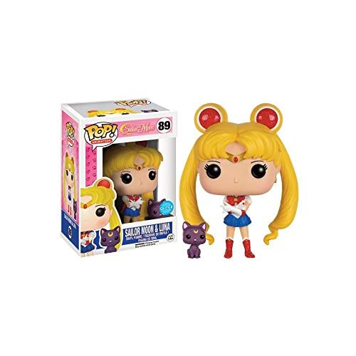 FunKo 599386031–Figurine Sailor Moon et Luna