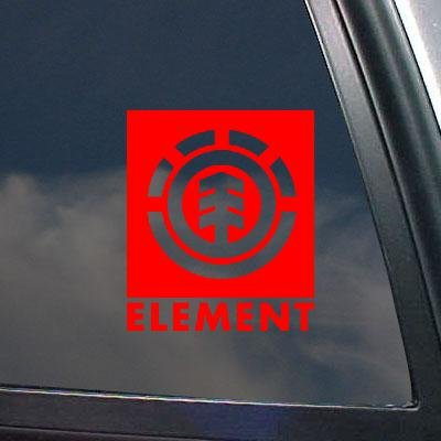 Elements Helmet (DECORATION RED ART WALL CAR ELEMENT LAPTOP ADHESIVE VINYL SKATEBOARD SNOWBOARD STICKER DECAL AUTO HELMET MACBOOK BIKE WINDOW WALL ART VINYL HOME DECOR)