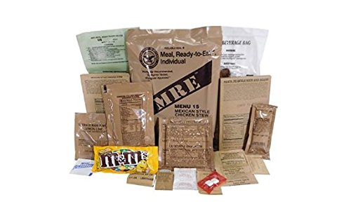 Amazon.com : MRE (Meals-Ready-To-Eat) Case-Inspection 10/2020 or Better-ACM MRE Case (Case B) : Grocery & Gourmet Food