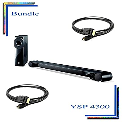 YSP-4300 Digital Sound Projector Powered home theater sound bar with wireless...