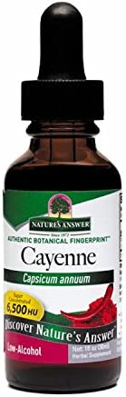 NATURE S ANSWER, Cayenne Capsicum Tincture – 2 fl oz