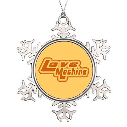 Vehfa Tree Branch Decoration Outdoor Xmas Decorations 1980S Cool Outside Snowflake Ornaments -