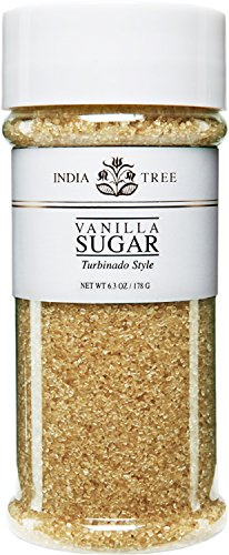 India Tree Vanilla Sugar, 6.3 Ounce
