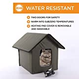 K&H Pet Products Outdoor Heated Kitty House Cat