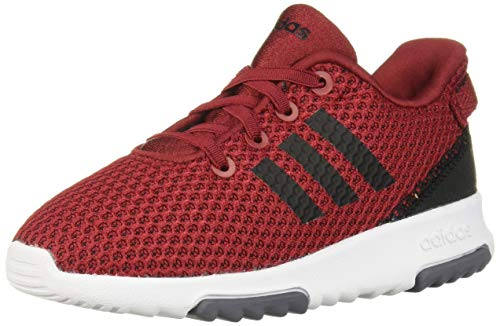 adidas Baby Racer TR Running Shoe, Active Maroon/Black/Onix, 8K M US Toddler (Adidas Kids Shoes Size 8)