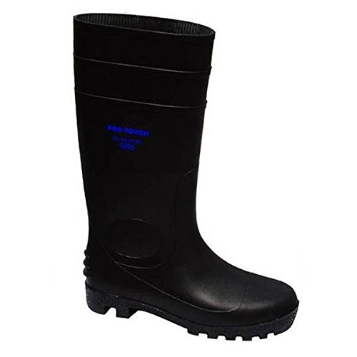 pro-tough pro-tough BLK – 10.0 BLK Sicherheit Gummistiefel 10