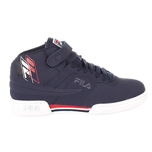 Fila F-13 F-Box Sneaker - FNVY/WHT/FRED - Mens - 9.5