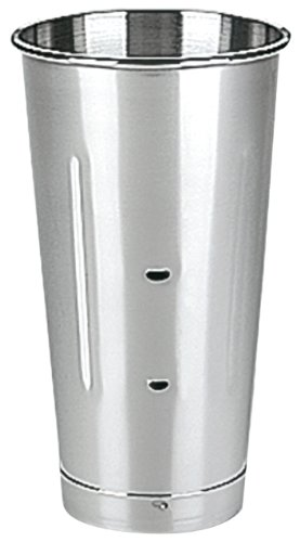 Waring Commercial CAC20 Stainless Steel Drink Mixers Malt Cup, 28-Ounce (Commercial Mixer Waring)