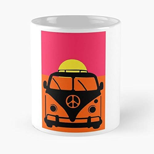 Van Bus Microbus Camper - 11 Oz White -coffee Mug- Unique Birthday Gift-the Best Gift For Holidays.
