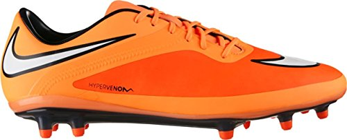 Nike Mens Hypervenom Phatal Fg Fotboll Cleat Orange, Vit, Svart