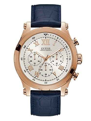 GUESS Men's Navy Chronograph Watch