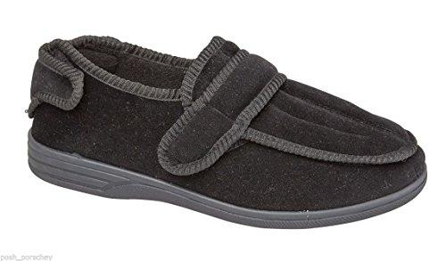 Shoe Tree Declan, Pantofole uomo nero Black