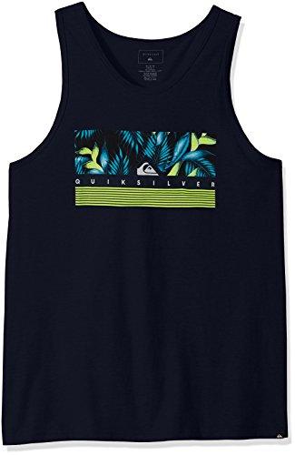 Quiksilver Men's Jungle Box Tank T-Shirt, Navy Blazer, X-...