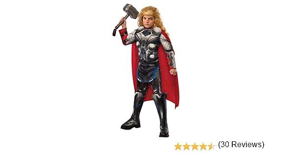 Rubies - Disfraz para niño, diseño Thor, Avengers Edad de Ultron, talla 3-4 años, (610433S)