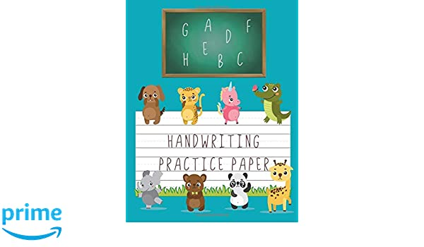 Handwriting Practice Paper Blank Line Writing Sheets For