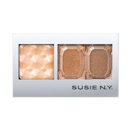 Susie N.Y Make Up Eye Shadow Deep Chiffon Eyes - 02 Mocha Br
