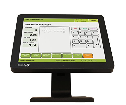 Bematech LE1015 POS Touch Screen Monitor