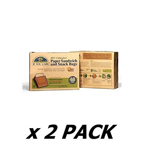 IF YOU CARE Sandwich Bags 48bags (2 Pack)