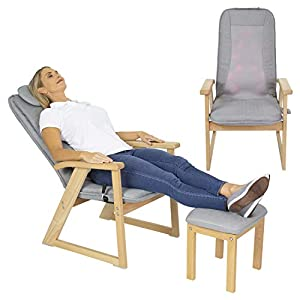 Vive Massage Chair and Footstool Ottoman Review