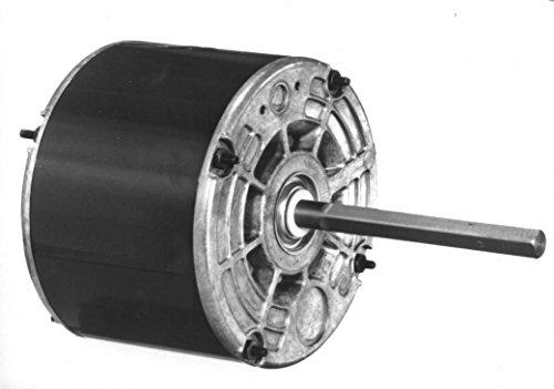 Fasco D832 5.6-Inch Diameter PSC Motor, 1/8 HP, 208-230 Volts, 825 RPM, 1 Speed, 1.1 Amps, REV Rotation, Sleeve Bearing