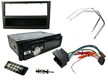Vauxhall Corsa C KENWOOD Car Stereo Radio Mechless MP3 AUX Player Kit Silver